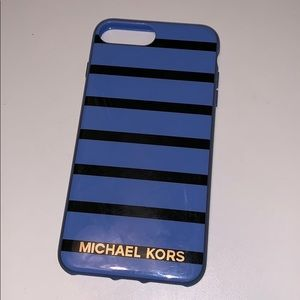 Michael Kors striped iPhone case
